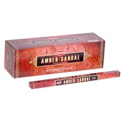 Hem Amber Sandal Incense (Square)